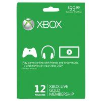 Xbox LIVE 12 Month Gold Membership Card:Amazon:Video Games