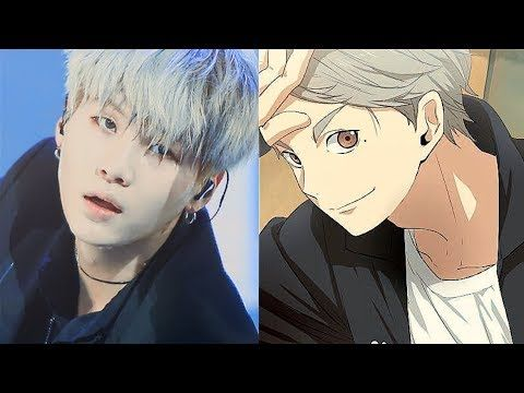 Kpop X Anime Edits Yoongjae Af Cute Anime Guys Anime Haikyuu