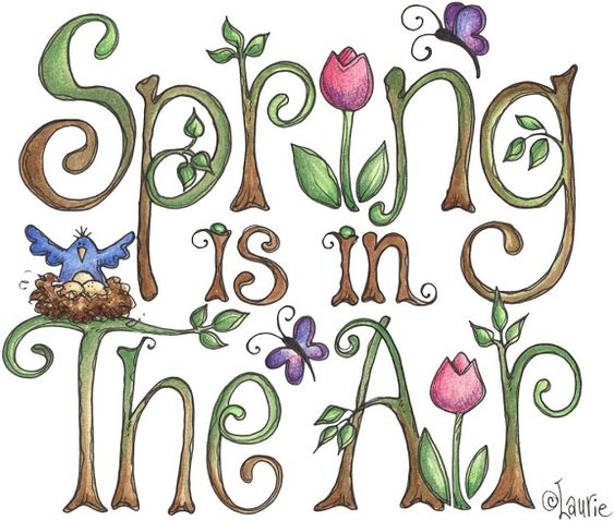 Laurie Furnell - Spring in the air - text (1024x869 px) printable: