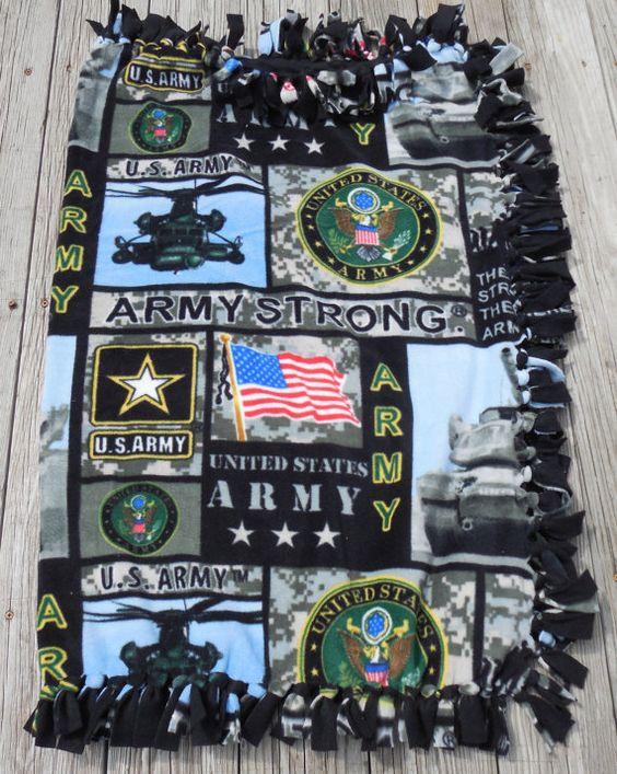 US Army Military New Design Digital Print by GabbysQuiltsNSupply