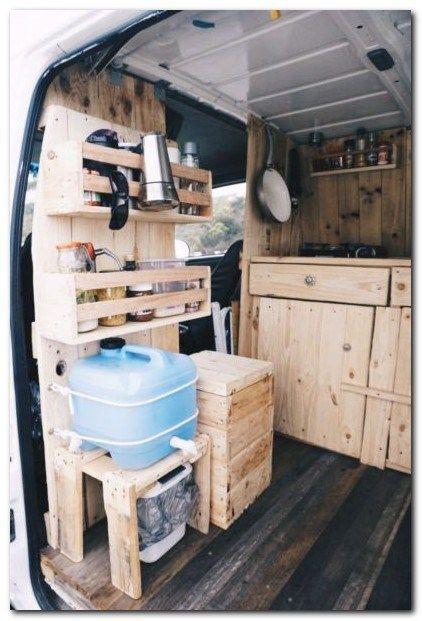 30 Ideas For Make Your Camper Van Kitchen Look Good The Urban Interior Van Life Interior Van Camping Van Interior