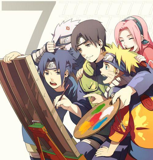 Wallpaper Kakashi Anime: Here We Have A Cute Naruto Anime Wallpaper. Team Kakashi