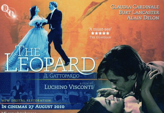 """The Leopard"" or Il Gattopardo. 1963, Lucciano Visconti's beautiful Italian Neoclassicism piece. Recently remastered"