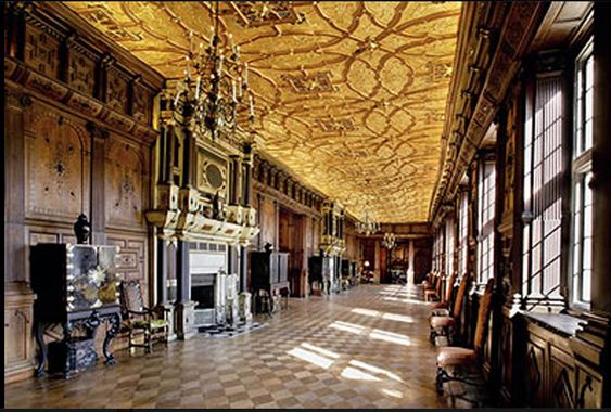 blenheim palace interior: