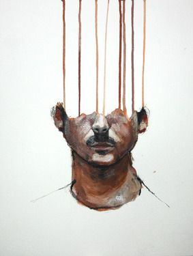 Painting portrait upside down/from side.  Could incorporate grid.  Leaving unfinished/adding abstraction to the unfinished part.