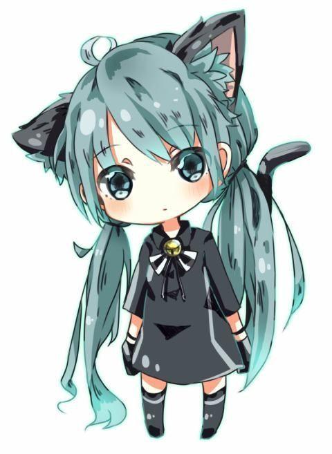 Ảnh Anime Đẹp ( 2 ) - Anime girl chibi neko - Wattpad