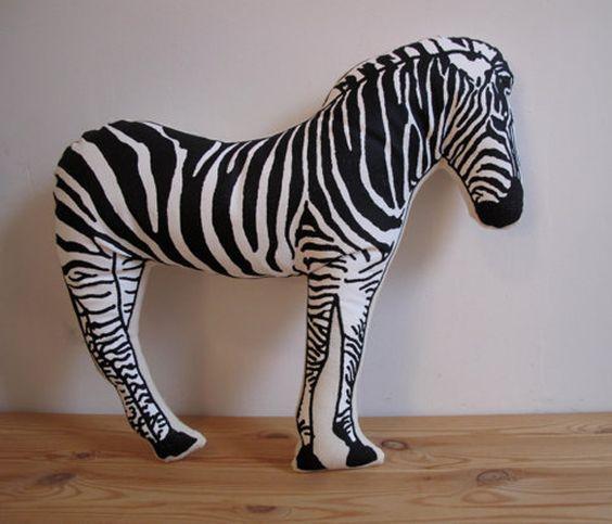 Zebra Pillow