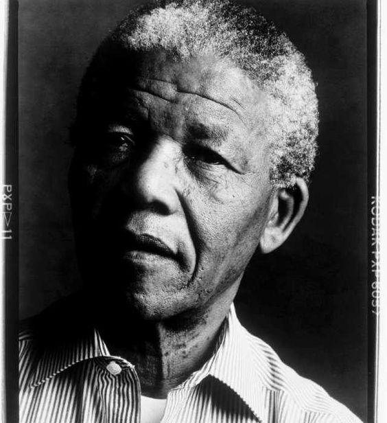 Nelson Mandela by Annie Leibovitz: