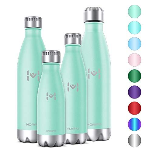 BPA Free Vacuum Insulated 500ml HYDRATE Stainless Steel Water Bottle /& Flask