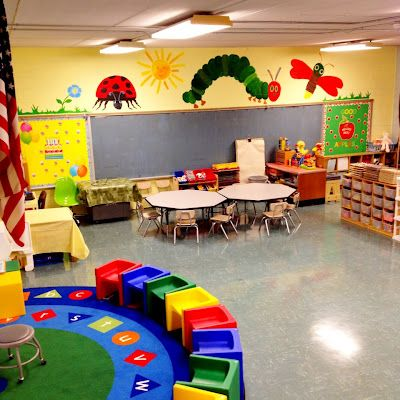 Different types of classroom and school murals on pinterest for Eric carle mural