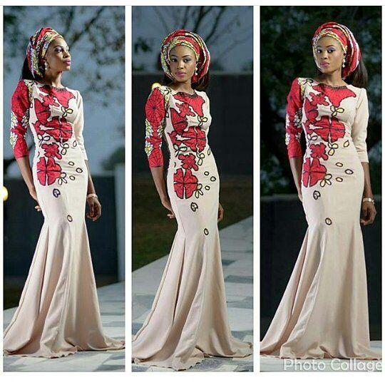 African print on another level #asoebi #speciallovers #wedding #makeover #asoebispecial #dress #headtie #africanprint #ankara @badaskyfashionhouse: