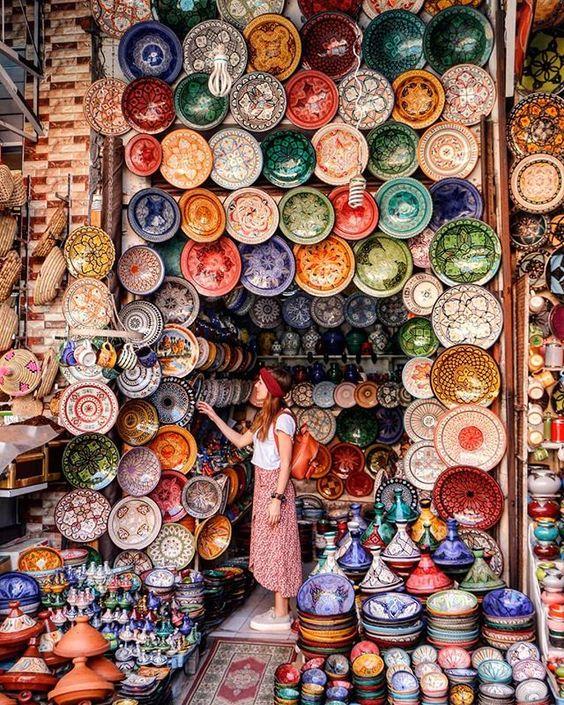 Marrakech, MoroccoBy @lamochiladesara