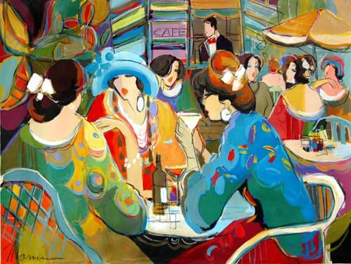 "Isaac Maimon  ""Nice Drinks in the Cafe"":"