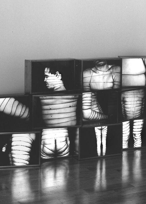AA Bronson - Body Binding (Detail) - 1970