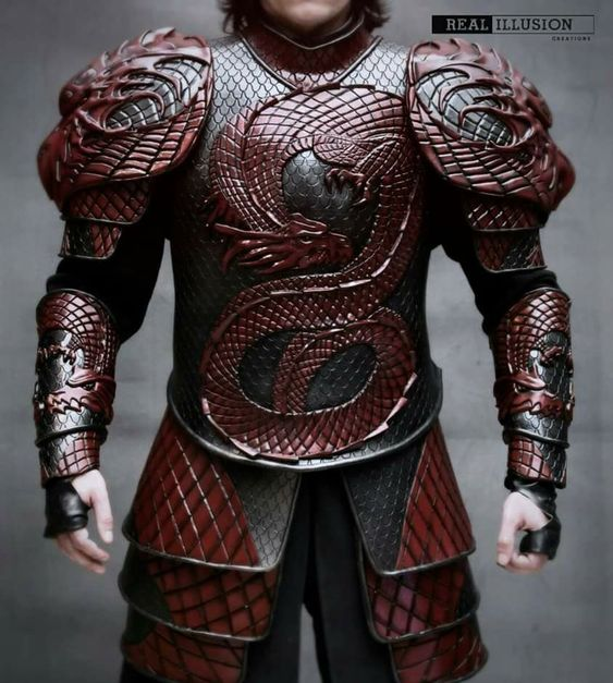 Dragon Armor looks wicked. Would give me more ideas for my design of my characters armour if I go for that design