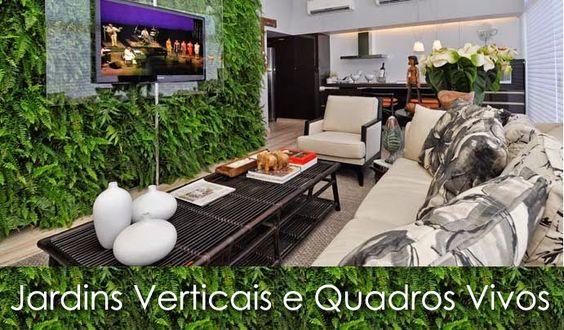 Decor Salteado - Blog de Decoração | Design | Arquitetura | Paisagismo: Jardins Verticais e Quadros Vivos na Decoração de Interiores!
