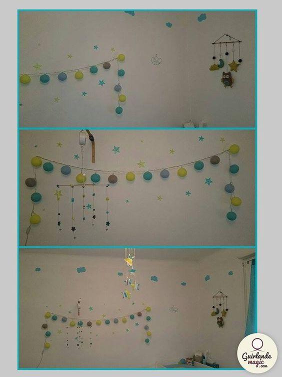 Guirlande lumineuse bricolage pinterest blog et comment - Comment accrocher une guirlande lumineuse au mur exterieur ...