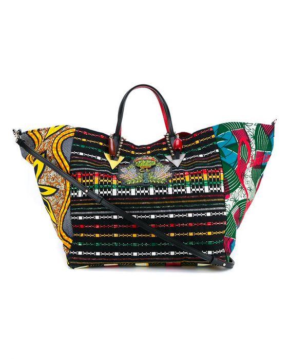 CHRISTIAN LOUBOUTIN X La Maison Rose Africaba Bag