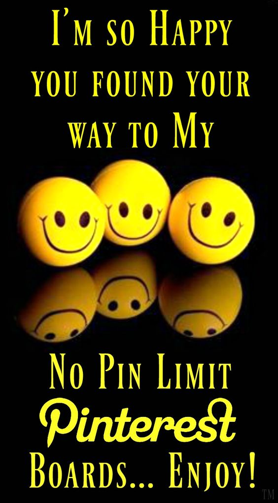 I'm so happy you found your way to my No Pin Limit Pinterest boards... Enjoy and pin all you like <3