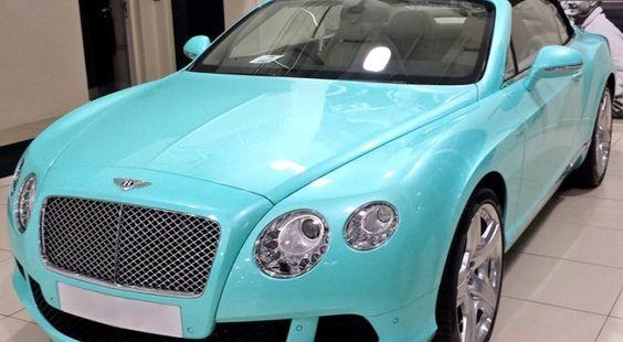 2014 Bentley Continental GTC Gets Tiffany Blue Color, in Tiffany Box http://www.autoevolution.com/news/2014-bentley-continental-gtc-gets-tiffany-blue-color-in-tiffany-box-73085.html