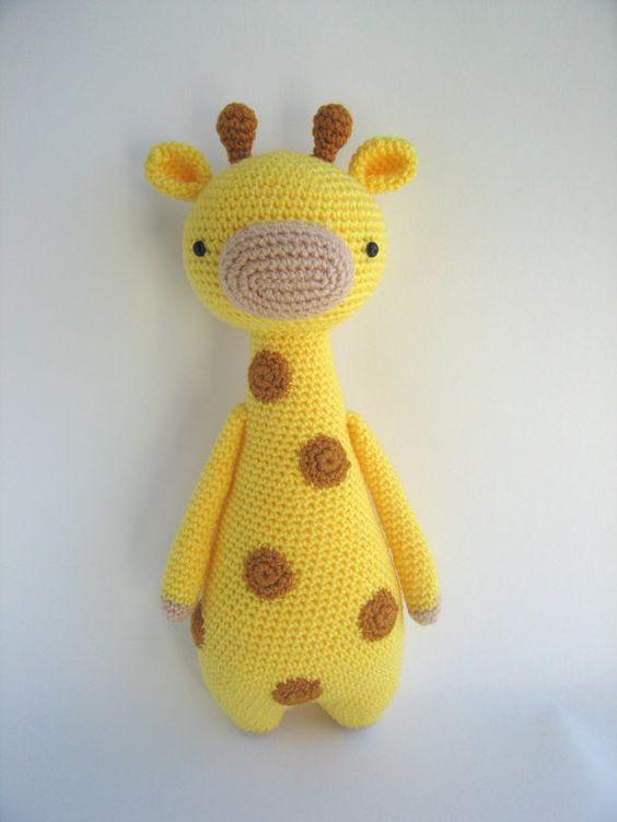 Jirafa con manchas Patrón de crochet por LittleBearCrochets