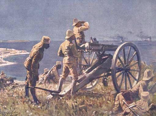 Batalla de Tanga, El General Paul von Lettow-Vorbeck, movilizó algo más de 1.000 soldados desde las regiones circundantes a la ciudad, para unirse a los askaris de la ciudad, llegando hasta los 1.100 efectivos.