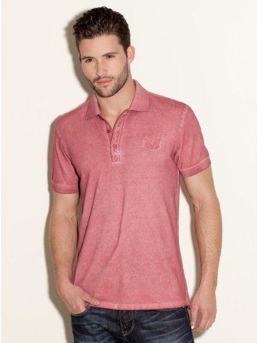 GUESS Chris Pique Polo Shirt