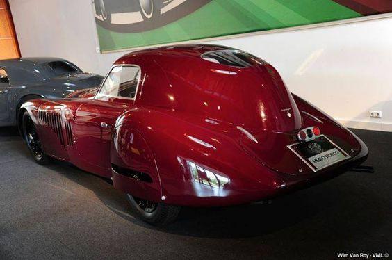 1938 Alfa Romeo 8C 2900 B Special Tipo Le Mans 2905cc - 220HP - 240km/h
