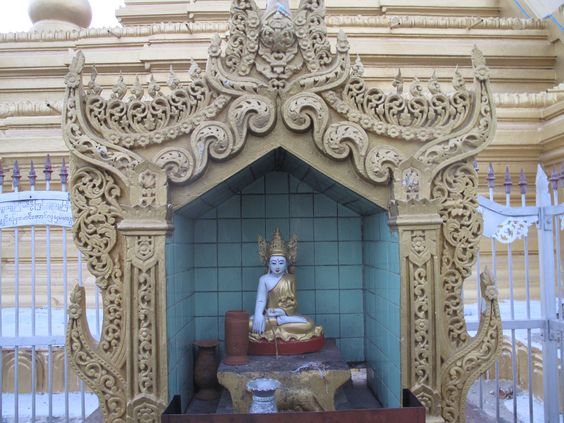 Buddha image in a temple