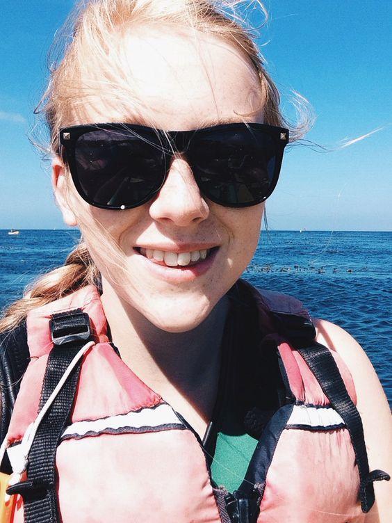 Sea kayaking at monterey