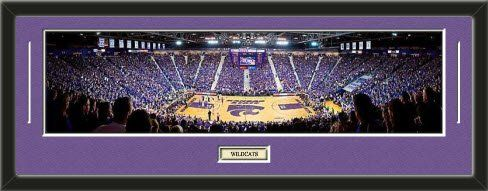 NCAA- Kansas State Wildcats - Bill Snyder Family Football Stadium Framed Panoramic With Team Color Double Matting & Name plaque Art and More, Davenport, IA http://www.amazon.com/dp/B00HEB5PXU/ref=cm_sw_r_pi_dp_4GgFub12M3RJ4