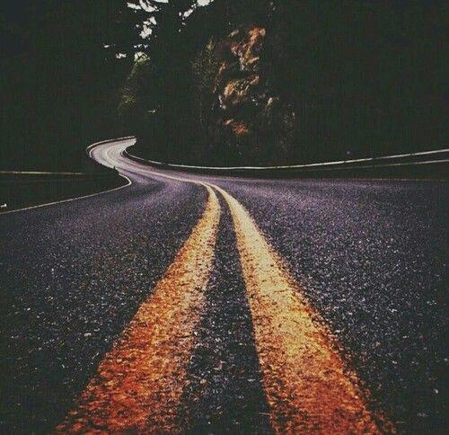 طريق طويلة ولا اعرف الى اين سوف اذهب ربما سوف اذهي الى الجحيم