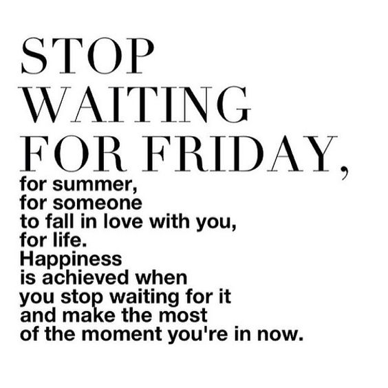 Stop waiting for FRIDAY: