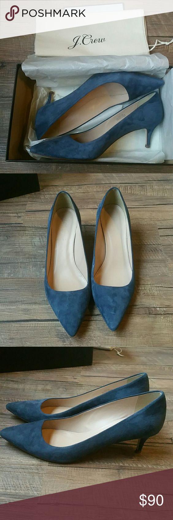 J Crew Dulci Suede Kitten Heel Kitten Heels Kitten Heel Shoes Me Too Shoes