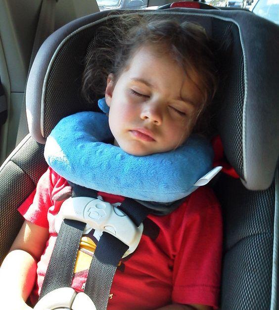 Headzuppillow Travel Pillow Car Seats Toddler Pillow