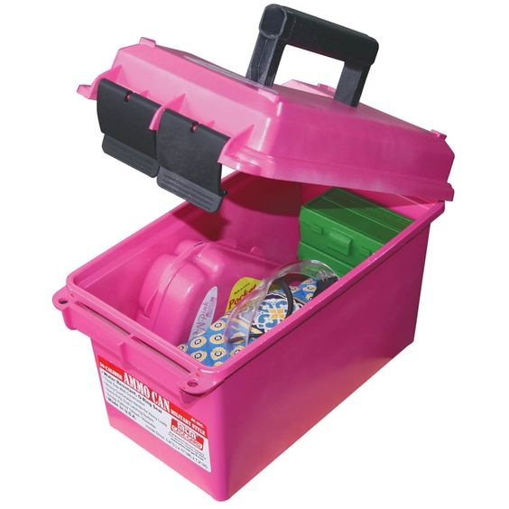 Pink ammo can