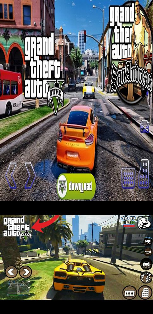 Download Gta 5 Apk Obb Offline For Android San Andreas Game