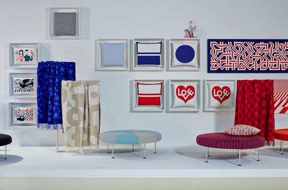 The Environmental Enrichment Panels by Alexander Girard are available in numerous designs and sizes.