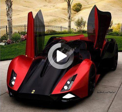 Ferrari Supercar Concept Super Cars 4 Door Sports Cars Fast Sports Cars