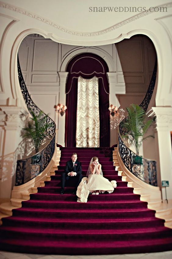 Rosecliff Mansion Staircase