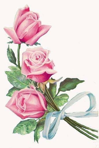 MI BAUL DEL DECOUPAGE: rosas:
