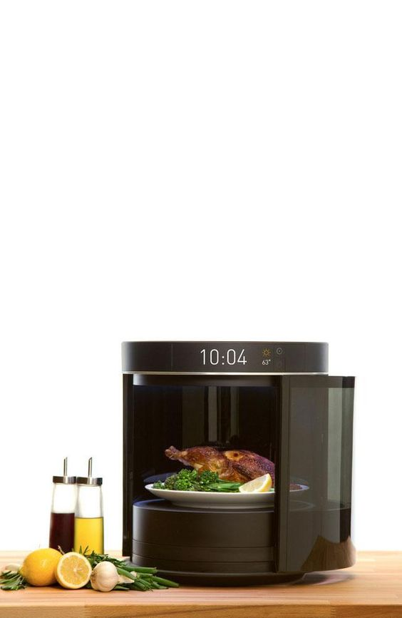 he RF cooking concept from Freescale Semiconductor uses solid-state radio frequency (RF) technology to heat meals quickly without sacrificing taste.