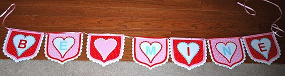 hearts made with cookie cutter