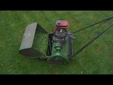 Vintage Suffolk Punch Mower Youtube Reel Mower Mower Lawn Mowers