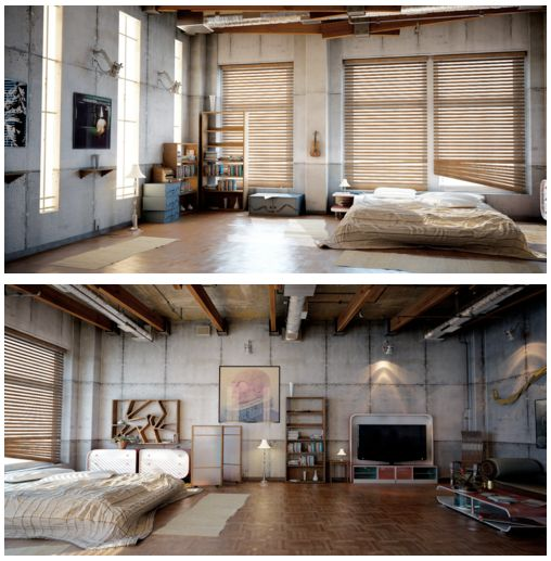 studio apartments industrial and twists on pinterest