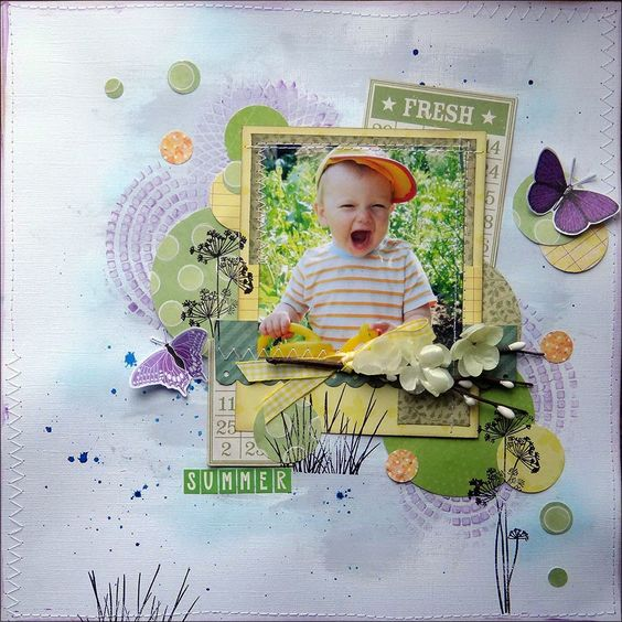 kreative koncepts: Colour Challenge #24: April-May