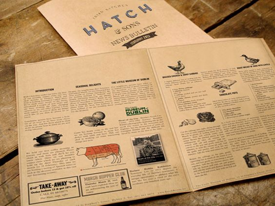 Branding: Hatch & Sons by Revert Design on bloglovin