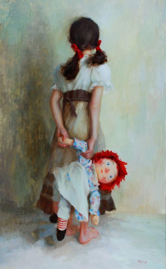 Marci Oleszkiewicz 1979 ~ Impressionist painter: