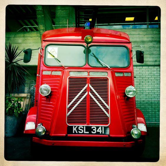 1959 Vintage Fire Engine Food Truck  (Engine Hot Dogs)