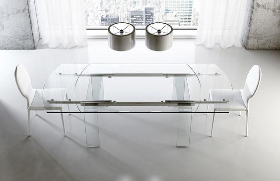 Tavoli di vetro
